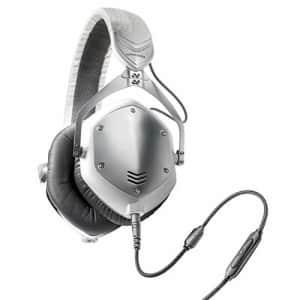 V-MODA Crossfade M-100 Over-Ear Noise-Isolating Metal Headphone (White Silver) for $488