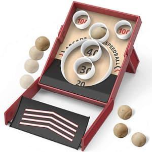 The Black Series Arcade Speedball Tabletop Skeeball Game for $25