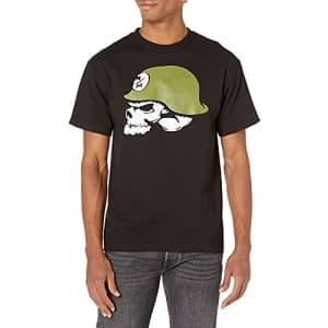Metal Mulisha Men's Og Helmet Tee Shirt Black, Small for $16