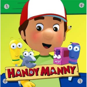 Hallmark Handy Manny Party Supplies Lunch Napkins servilletas de almuerzo - 16 Each for $13