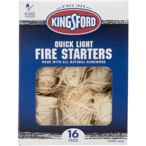 Kingsford 16-Piece Quick Light Fire Starters for $10