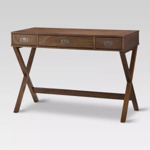 Threshold Campaign Wood Writing Desk for $122 w/ Target Circle