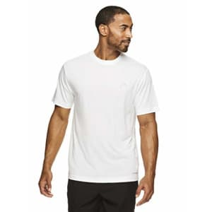 HEAD Men's Hypertek Crewneck Gym Tennis & Workout T-Shirt - Short Sleeve Activewear Top - New York for $13
