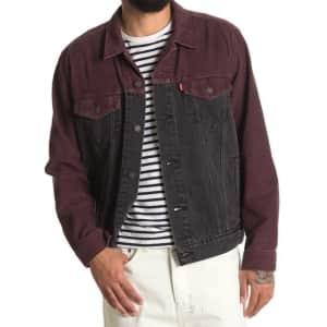 Levi's Men's The Colorblock Trucker Jacket for $30