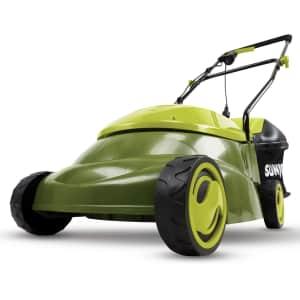 "Sun Joe 14"" 12A Electric Lawn Mower for $79"