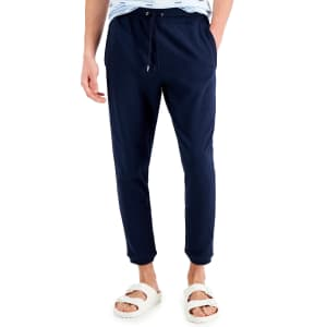 INC Men's Reverse French Terry Jogger Pants for $17