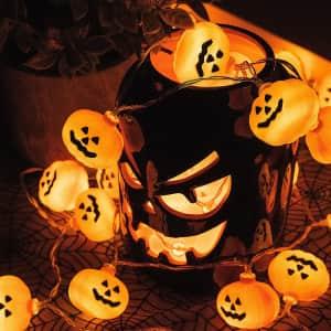 Varmax Halloween LED String Lights for $10