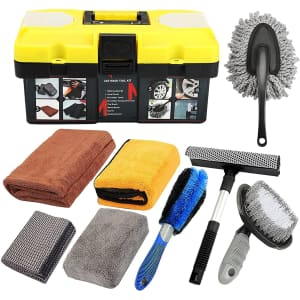 Mofeez 9-Piece Car Cleaning Kit for $25