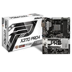 ASRock Socket AM4/ AMD Promontory X370/ DDR4/ Quad CrossFireX/ SATA3&USB3.1/ M.2/ A&GbE/ATX for $128