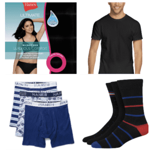 Hanes Summer Stock Up Event: Buy 1, get 2nd free