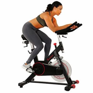 Sunny Health & Fitness Magnetic Belt Drive Indoor Cycling Bike for $557