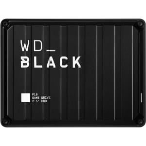 WD Black P10 4TB External Game Drive for $110