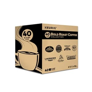 Keurig Bold Roast Coffee Collection Variety Pack, Single-Serve Coffee K-Cup Pods Sampler, 40 Count for $34