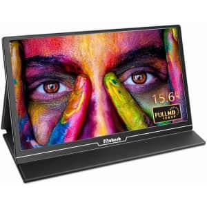 "Mukesh 15.6"" 1080p Portable USB Monitor for $145"