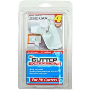 Camco RV Gutter Extensions 4-Pack for $8