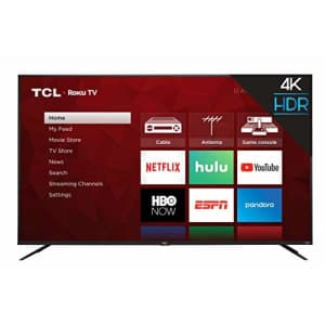 TCL 75S425 75 Inch 4K UHD HDR Smart Roku TV (2019) for $950