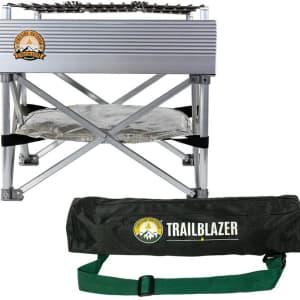 Fireside Outdoor Trailblazer Fire Pit & Grill for $95