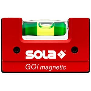 Sola so la 01621101 Magnetic Level, Red, 68 x 21 x 42 mm for $31