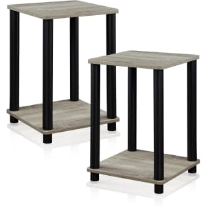 Furinno Simplistic End Table 2-Pack for $27