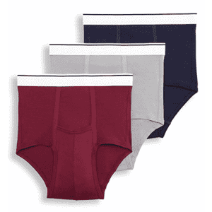 Jockey Men's Pouch Briefs 3-Pack for $10