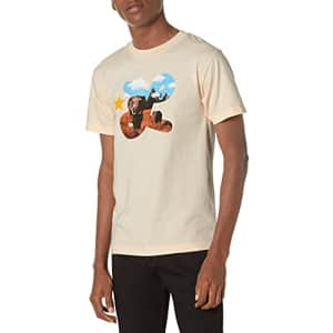 LRG Lifted Research Group Men's Graphic Design Logo T-Shirt, Peach Plant, 2XL for $15