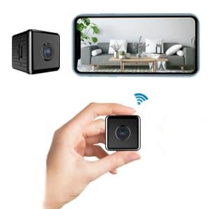 W10 1080p HD Mini Wireless Camera for $15