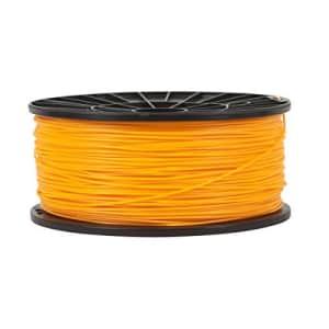 Monoprice PLA 3D Printer Filament - Bright Orange - 1kg Spool, 1.75mm Thick | | For All PLA for $18