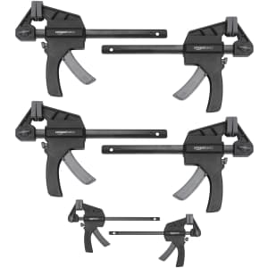 Amazon Basics 6-Piece Trigger Clamp Set for $17