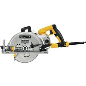 "DeWalt 120V 15A 7.25"" Worm Drive Circular Saw w/ Electric Brake for $159 at checkout"