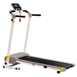 Sunny Health & Fitness Easy Assembly Folding Treadmill w/ LCD Display for $289