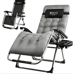 Coco Cape Zero Gravity Chair with Cushion for $60