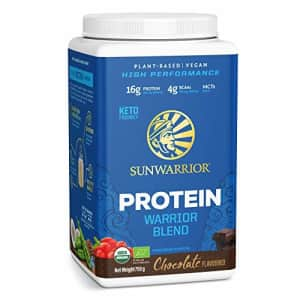 Sunwarrior Warrior Blend - Organic Vegan Plant Protein Powder with BCAAs and Pea Protein - Dairy for $36