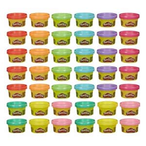 Play-Doh Handout 42-Pack of 1-Ounce Non-Toxic Modeling Compound for Kid Party Favors, Trick or for $39
