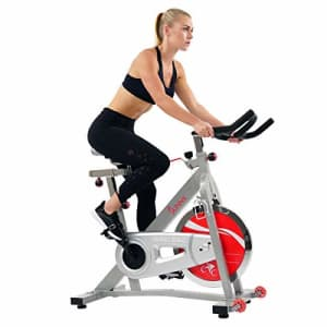 Sunny Health & Fitness Indoor Cycle Exercise Bike SF-B901B with Belt Drive for $329