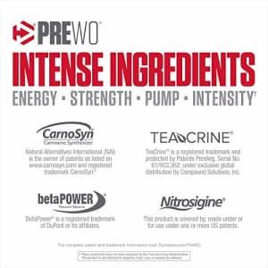 Dymatize PreW.O., Pre Workout Powder with Caffeine, Maximize Energy, Strength & Endurance, Amplify for $60