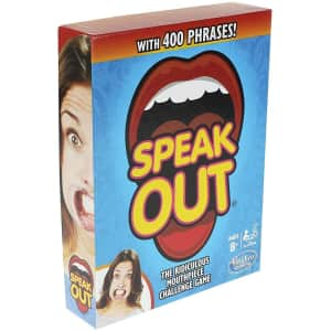 Hasbro Speak Out Game Mouthpiece Challenge for $15