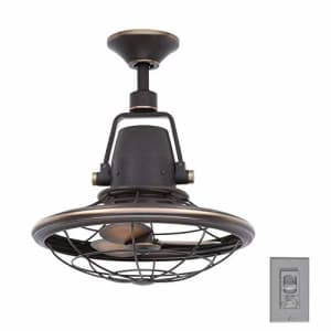 Home Decorators Collection Bentley II 18 Inch Indoor and Outdoor Tarnished Bronze Oscillating for $163