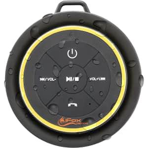 iFox Waterproof Bluetooth Shower Speaker for $35