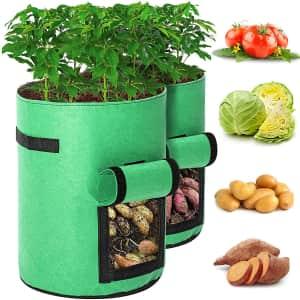Tvird 10-Gallon Potato Grow Bags 2-Pack for $15