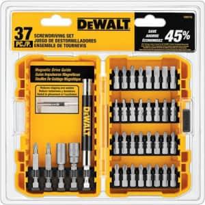 DeWalt 37-Piece Screwdriving Set for $35