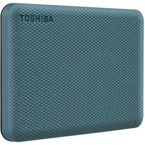 Toshiba Canvio Advance 1TB Portable External Hard Drive for $52