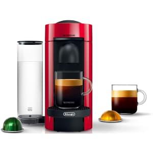 Nespresso VertuoPlus Coffee and Espresso Machine for $150