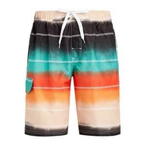 Kanu Surf Men's Echelon Swim Trunks (Regular & Extended Sizes), Apollo Black, X-Large for $20