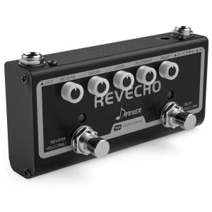 Donner Revecho 2-in-1 Guitar Effect Pedal for $32