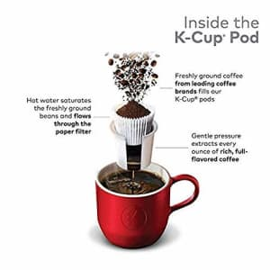Dunkin Donuts Original K-Cup Pods, Original Blend, 24 Count (Packaging May Vary) for $20