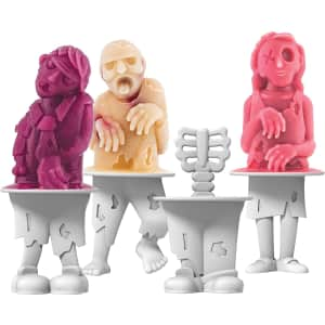 Tovolo Zombies Ice Pop Molds for $12