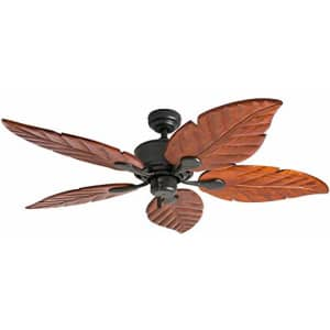 "Honeywell Ceiling Fans 50501-01 Sabal Palm Ceiling Fan, 52"", Bronze for $112"