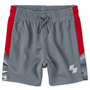 The Children's Place Baby Boys' Printed Athletic Shorts, Dolphin, 6-9MONTHS for $13
