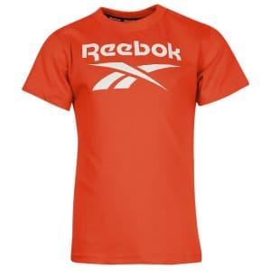 Reebok Boy's Vector Logo T-Shirt for $7