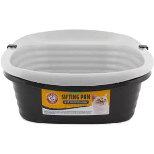 Petmate Arm & Hammer Large Sifting Litter Pan for $14